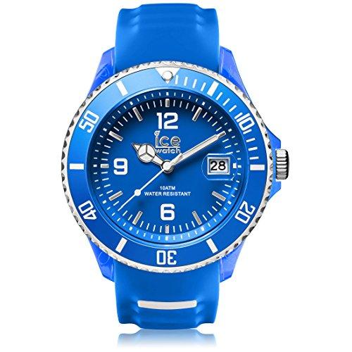 Ice Watch ICE sporty Blue White Blaue mit Silikonarmband 001332 Extra Large