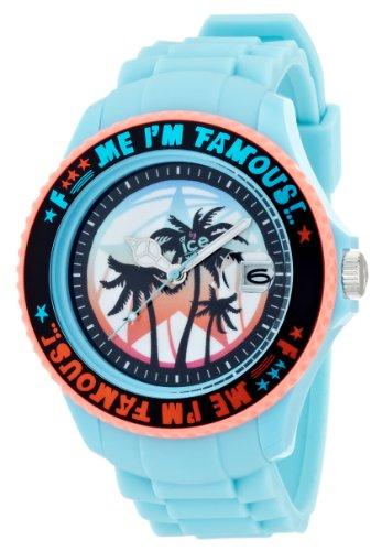 Ice Watch Unisex Armbanduhr Big XL F Me Im Famous tuerkis palm FM SS TEP BB S 11