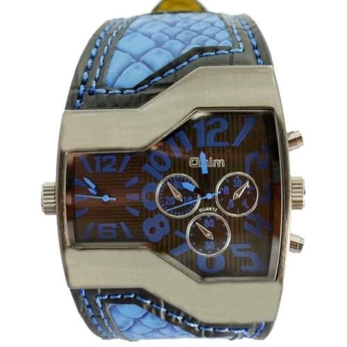 Coxeer® Oulm Quartz Analog Armbanduhr MAEnner Military-Sportuhr
