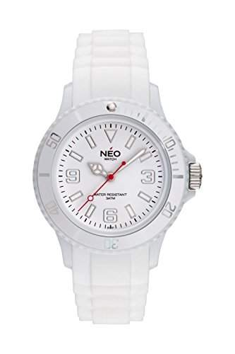 NEO watch Armbanduhr NICE-1 white unisex - N1-002