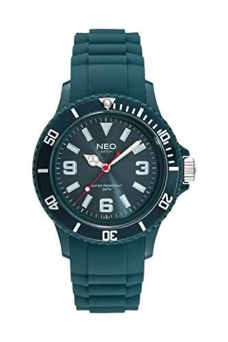NEO watch Armbanduhr NICE-1 petrol unisex - N1-007