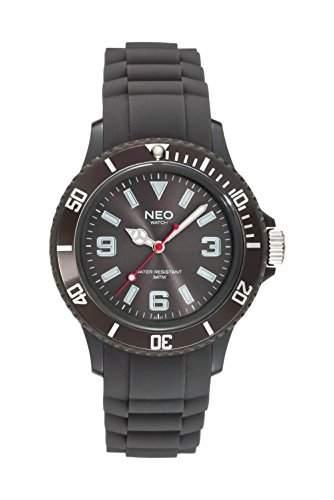 NEO watch Armbanduhr NICE-1 black coffee unisex - N1-008