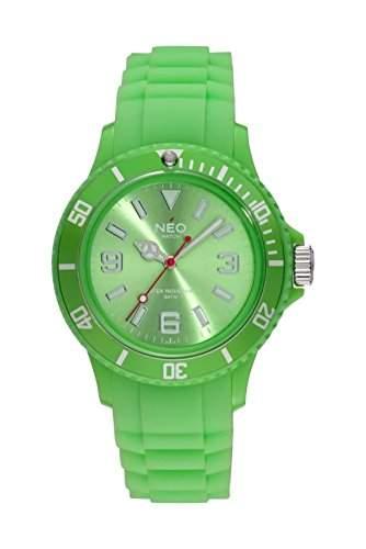NEO watch Armbanduhr NICE-1 lime green unisex - N1-017