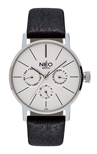 NEO watch MINIMALISM Armbanduhruhr Multifunktion Edelstahl N4-001