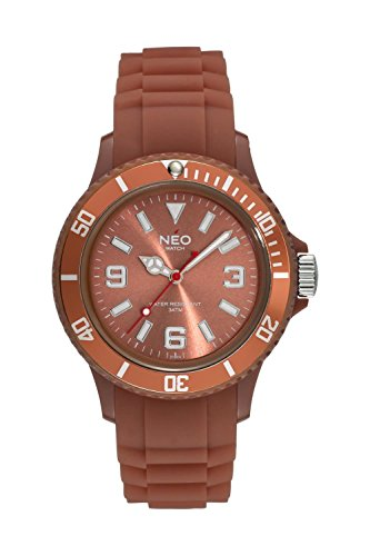 NEO watch Armbanduhr NICE 1 light brown unisex N1 005