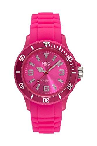 NEO watch Armbanduhr NICE 1 hot pink unisex N1 015