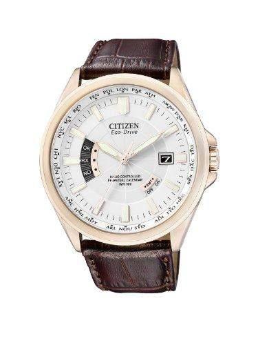 Citizen Herren-Armbanduhr Analog Quarz Edelstahl CB0013-04A