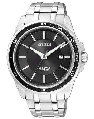 Citizen Herren-Armbanduhr Analog Quarz Titan BM6920-51E