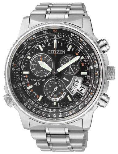 Uhr Citizen The Pilot By0081-54e Herren Schwarz