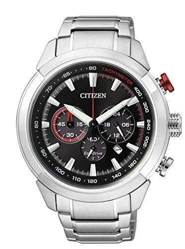 Citizen Herren-Armbanduhr Chronograph Quarz Edelstahl CA4110-53F