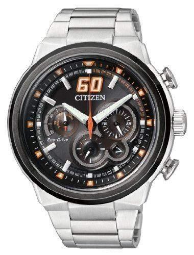 Citizen Herren-Armbanduhr XL Chronograph Quarz Edelstahl Ca4134-55E