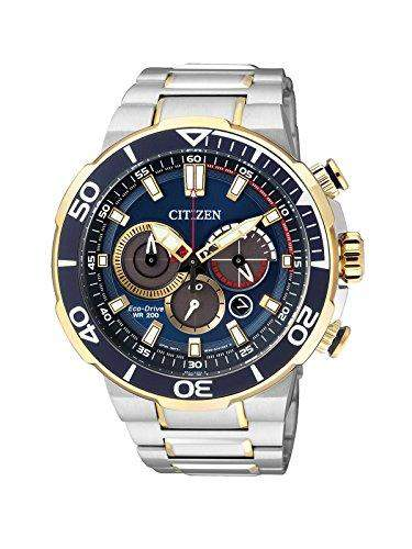 Citizen Herren-Armbanduhr Chronograph Quarz Edelstahl CA4254-53L