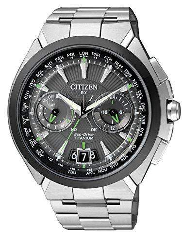 Citizen Herren-Armbanduhr XL Analog Quarz Titan CC1084-55E