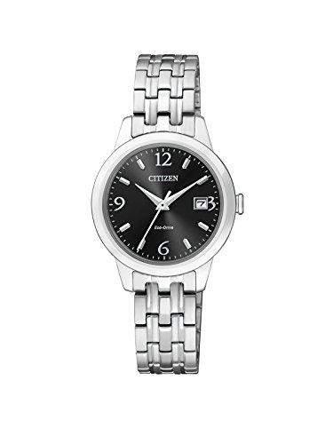Citizen Damen-Armbanduhr Analog Quarz Edelstahl EW2230-56E