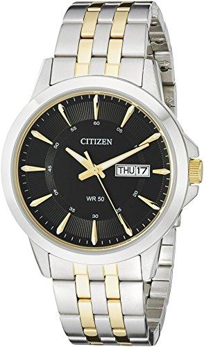 Citizen Herren bf2018 52E bicolor Edelstahl Armband Armbanduhr