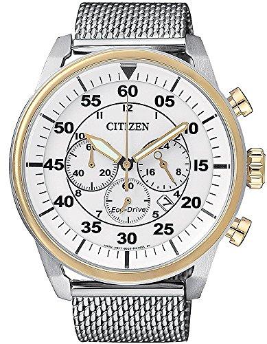 Citizen CA4214 58A Sports Chrono Eco Drive Herren Uhr