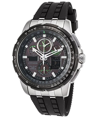 Citizen CITIZEN ECO DRIVE jy8051 08E Herren Skyhawk a t World Time Armbanduhr