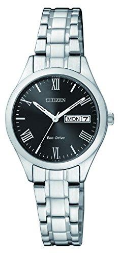Citizen Damen Armbanduhr Analog Quarz Edelstahl EW3196 81EE