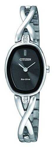 Citizen Damen Armbanduhr Analog Quarz Edelstahl EX1410 88E