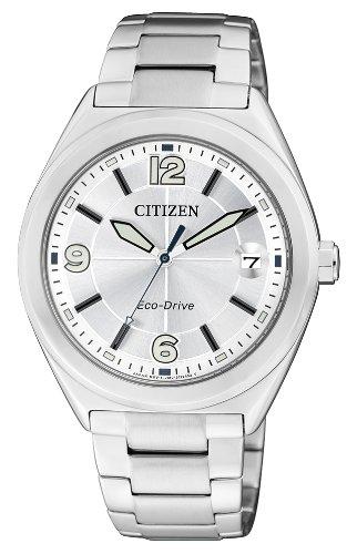Citizen Damen Armbanduhr XS Analog Quarz Edelstahl FE6000 53A