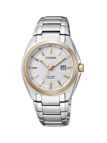 Citizen XS Super Titanium Analog Quarz Titan EW2214 52A
