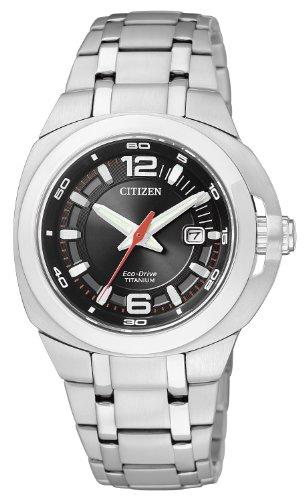 Citizen Damenarmbanduhr Super Titanium EW0930 55E