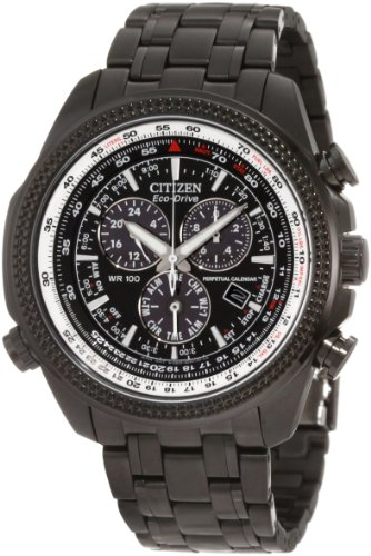 CITIZEN ECO DRIVE MENS STAINLESS STEEL CASE CHRONOGRAPH DATE UHR BL5405 59E