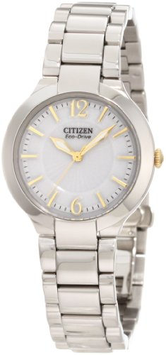 CITIZEN FIRENZA WOMENS STAINLESS STEEL CASE STEEL BRACELET UHR EP5984 52A