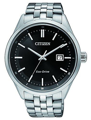 Citizen Herren Armbanduhr Analog Quarz Edelstahl BM7251 88E
