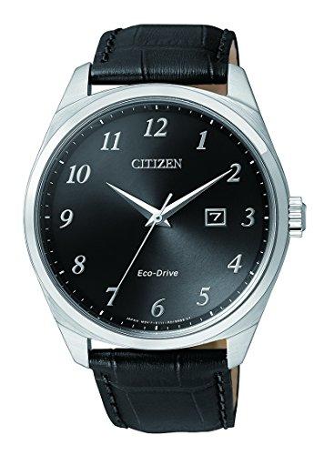 Citizen Herren Armbanduhr Analog Quarz Edelstahl BM7320 01E