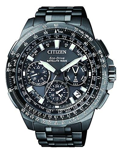 Citizen Herren Armbanduhr Promaster Sky Satellite Wave Chronograph Quarz Titan CC9025 51E
