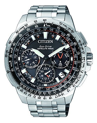Citizen Promaster Sky Satellite Wave Chronograph Quarz Titan CC9020 54E