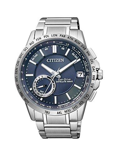 Citizen Satellite Wave Analog Quarz Edelstahl CC3000 54L