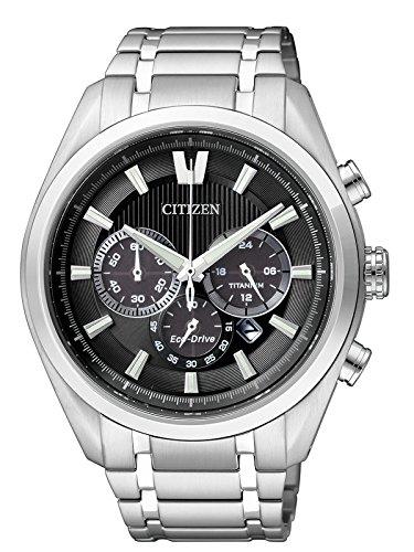 Citizen XL Super Titanium Chronograph Quarz Titan CA4010 58E