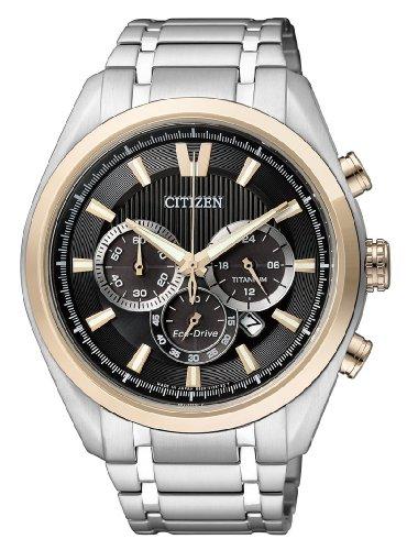 Citizen XL Super Titanium Chronograph Quarz Titan CA4014 57E