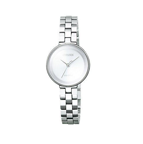 Uhr in Stahl Citizen Eco Drive Lady ew5500 57 A