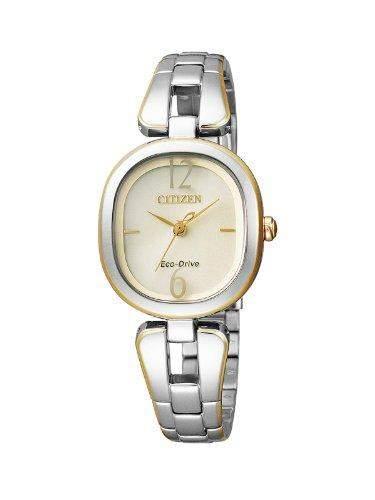 Citizen Damen-Armbanduhr XS Analog Quarz Edelstahl beschichtet EM0186-50P