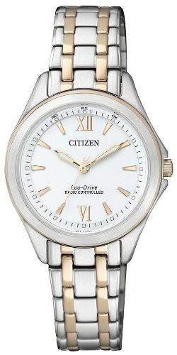 Citizen Herren-Armbanduhr Analog Quarz Edelstahl ES4024-52A