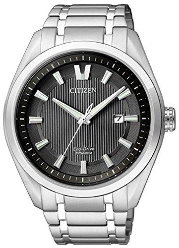 Solaruhr Herren Citizen aus Titan Eco Drive AW1240 57 Uhren Variante N 1