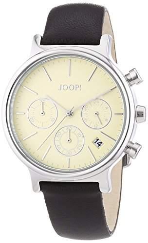 Joop Damen-Armbanduhr Chronograph Quarz Leder JP101502004
