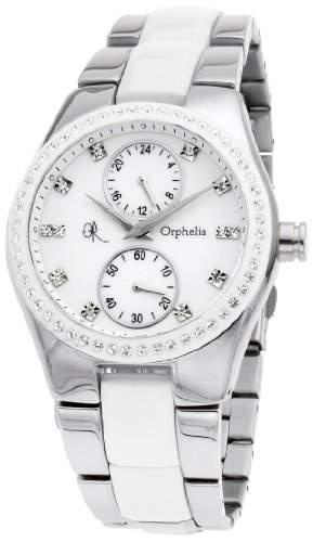 Orphelia Damen-Armbanduhr Analog verschiedene Materialien 132-2704-18