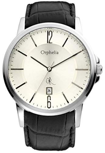 Orphelia Herren-Armbanduhr XL Analog Leder 132-6708-84