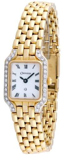 Orphelia Damen-Armbanduhr 18 Karat 750 Gelbgold & Diamond 418 Gramm mon-7027