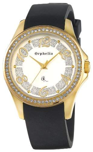 Orphelia Damen-Armbanduhr Analog Quarz Kautschuk