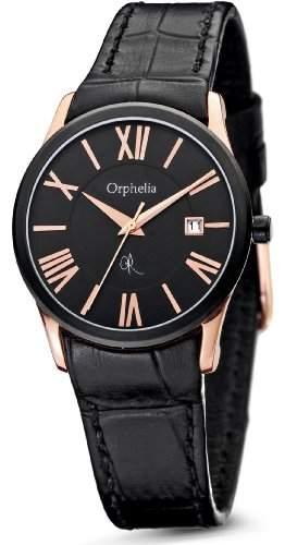 Orphelia Damen-Armbanduhr XS Analog Quarz Leder OR32171044