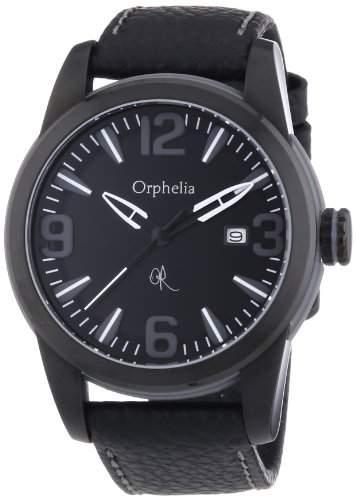 Orphelia Herren-Armbanduhr XL Analog Quarz Leder OR32671144