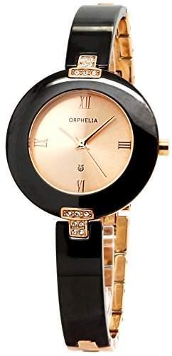 Orphelia Damen-Armbanduhr Analog Quarz Keramik OR53370274