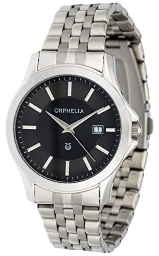Orphelia Herren-Armbanduhr Analog Quarz Edelstahl