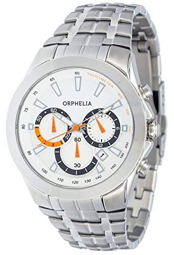 Orphelia Herren-Armbanduhr Chronograph Quarz Edelstahl