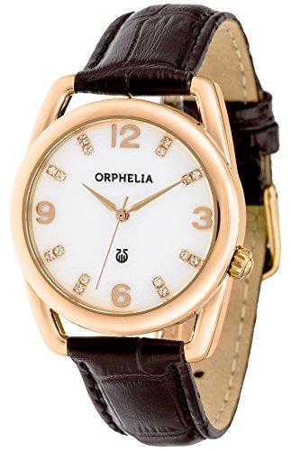 Orphelia Classic Glam Analog Quarz Leder